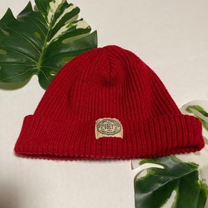 Obey Beanie Dover Red